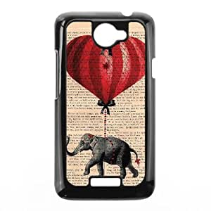 Elephant on Dictionary HTC One X Cell Phone Case Black Rvxiy