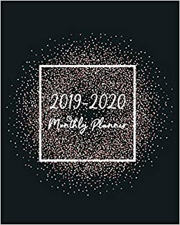 Ucf Academic Calendar Fall 2020.2019 2020 Monthly Planner Two Year Planner With 24 Months Calendar