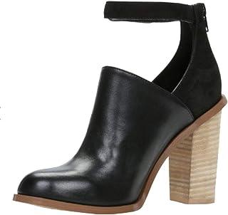 Bottes Femme, Chaussure Mode Bottine Low Boots Femmes Lacets Talon Haut NINGSANJIN-Chaussures