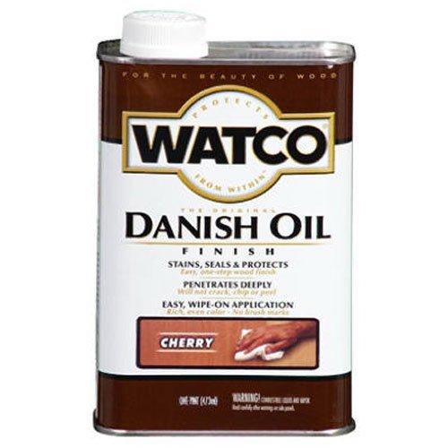 - Watco 65251 Danish Oil Wood Finish, Pint, Cherry