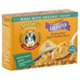 Annie's Homegrown Shells and Real Aged Wisconsin Cheddar, 11-ounces (Pack of6)