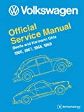 Volkswagen Beetle and Karmann Ghia Official Service Manual Type 1, Bentley Publishers, 0837616468