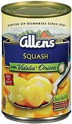 Allens Squash with Vidalia Onions 14.5 Oz (Pack of 3)