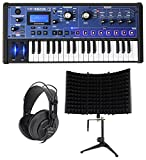 Novation MiniNova 37-Key USB MIDI Keyboard SynthesizerHeadphones + Foam Shield
