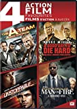 DVD : The A-Team / A Good Day to Die Hard / Unstoppable / Man on Fire (4 Action Feature Film)