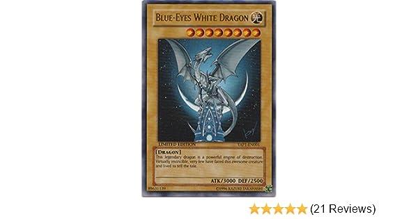 - Anniversary Pack YAP1-EN001 Limited ... Yu-Gi-Oh! Blue-Eyes White Dragon