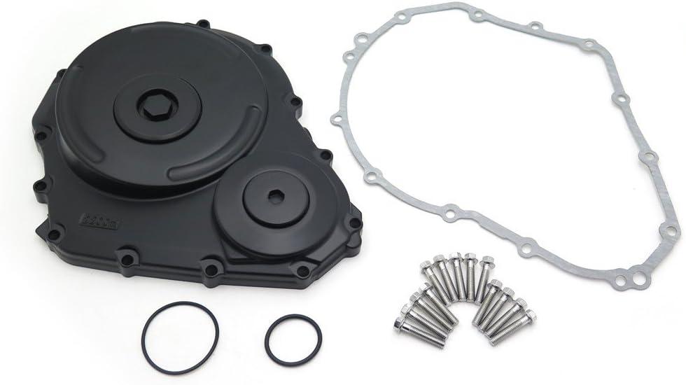 Black Billet Aluminum Engine Clutch Cover For Compatible with Suzuki 2006-2009 GSXR 600 750 w//gasket NBX