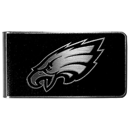 NFL Philadelphia Eagles Black & Steel Money Clip ()
