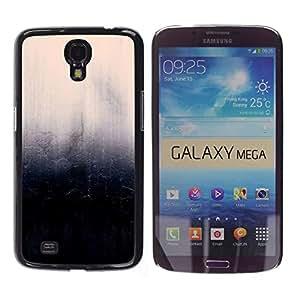 TECHCASE**Cubierta de la caja de protección la piel dura para el ** Samsung Galaxy Mega 6.3 I9200 SGH-i527 ** Wall Stone Rock Design Art Black Pink Nature