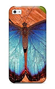 fenglinlinBest 9246222K16513055 Ultra Slim Fit Hard Case Cover Specially Made For ipod touch 5- Beautiful Butterfly
