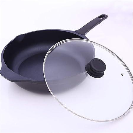 Sartenes, Aluminio Infinito Duro Anodizado 32 cm Sartén con ...