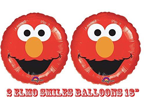 Elmo Smiles Foil Balloons 18 product image