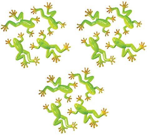 2 Dozen (24) Realistic Mini Tree Frogs - 2.5