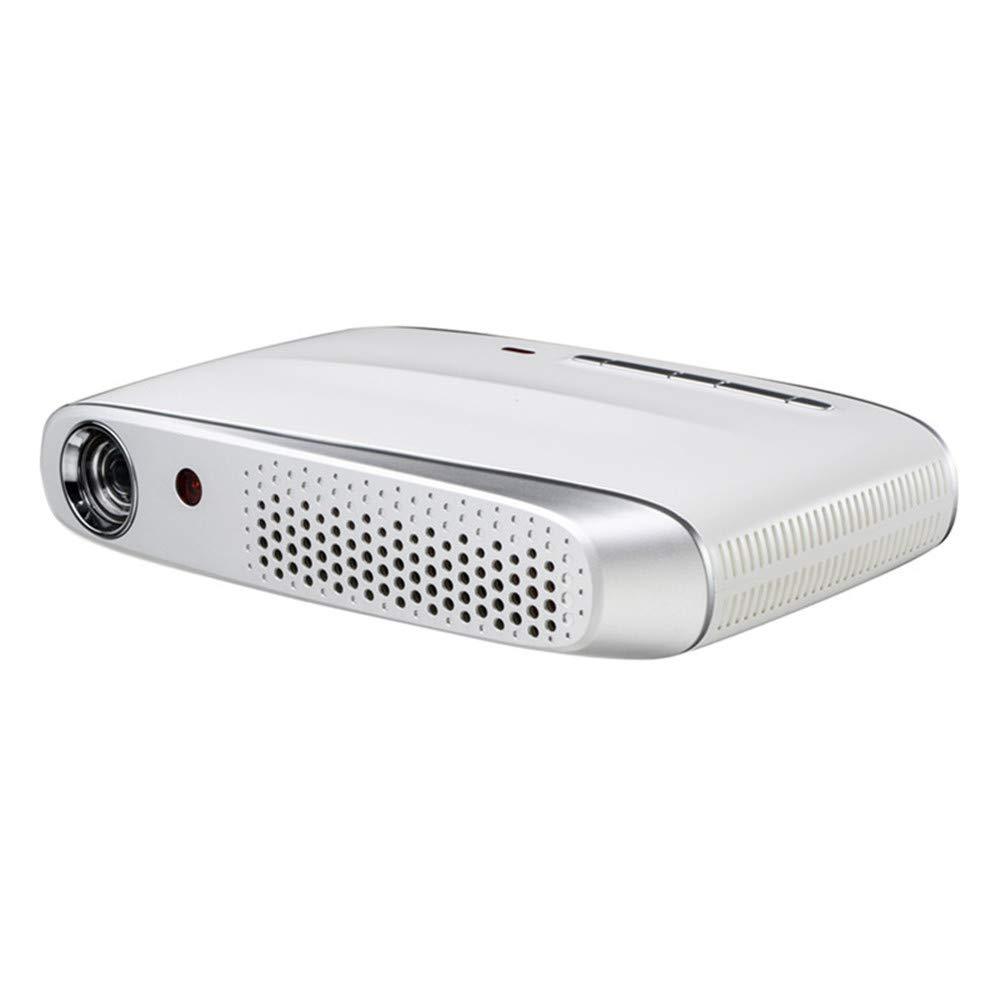 Guowy Inalámbrico Portátil Portátil WiFi 3D 4K HD Home Theater ...
