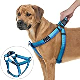 PETBABA No Pull Dog Harness, Front Clip Give Pet Choke Free Walking, Reflective