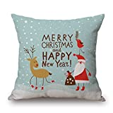 SkuGo 18 X 18 Inches / 45 By 45 Cm Christmas Throw Pillow Covers ,both Sides Ornament And Gift To Adults,son,living Room,gril Friend,bedroom,him