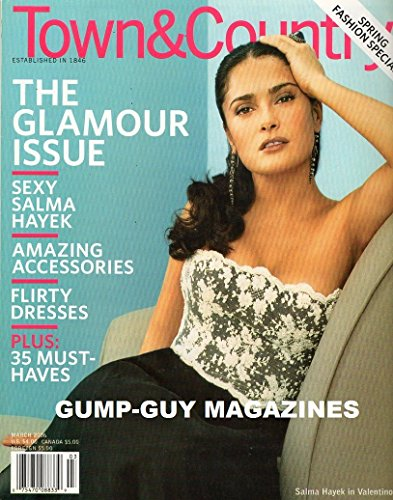 Town & Country 2006 March - Salma Hayek in Valentino