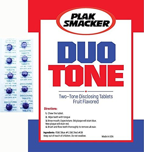 Tablets Gum Disclosing (Duo Tone Plaque Disclosing Tablets (50))