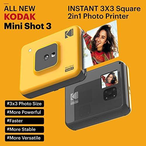 Kodak Mini Shot Combo 3 C300y Yellow Kamera