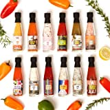 12 Piece Global Spice and Hot Sauce Set