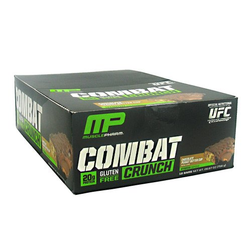 Muscle Pharm Hybrid Series Combat Crunch Chocolate Peanut Butter Cup 26.67oz pk. of 12