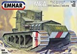 Emhar Models Whippet MkA WWI Medium A Tank (1918) Vehicle Model Building Kit