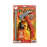 MyPartyShirt Firefighter Accessory Kit