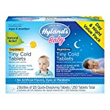 Hyland's Baby Homeopathic Tiny Cold Tablets For Day and Night Time, 250 Count