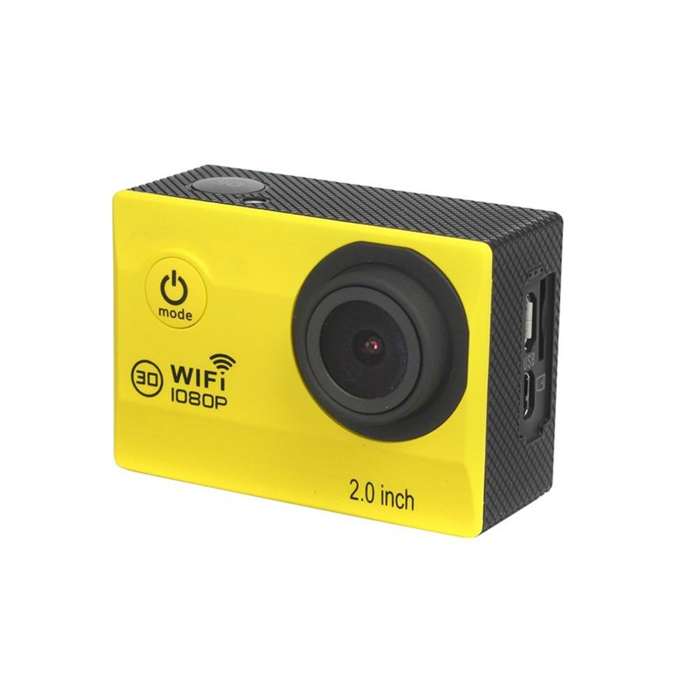 Sport Action camera3d Ultra HD Camcorder 12 MP WIFI 98 ft ...