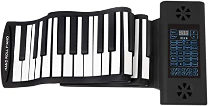 YIHANGG Rollo Manual Piano 88 Teclas Plegable Portátil ...