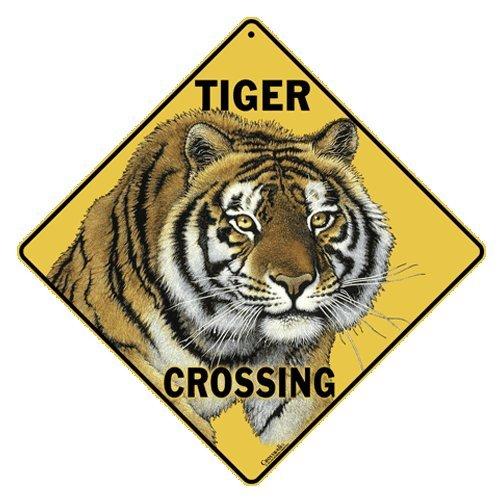 Costume Sign Crosswalk (Tiger Crossing 12