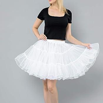 Falda de Tul tutú para Mujer Falda Plisada De Cintura Alta Falda ...
