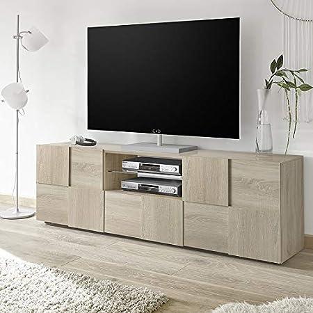 Kasalinea Domos 3 - Mueble para televisor (Madera de Roble ...