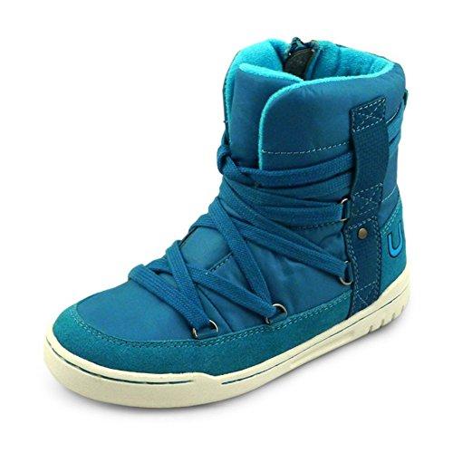 U-MAC Boys Girls Martin Boots Comfort Winter Warm High Top Boots X-Mas Gift(Little Kid/Big Kid) by U-MAC