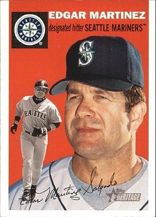 Amazoncom 2003 Topps Heritage Baseball Card 197 Edgar