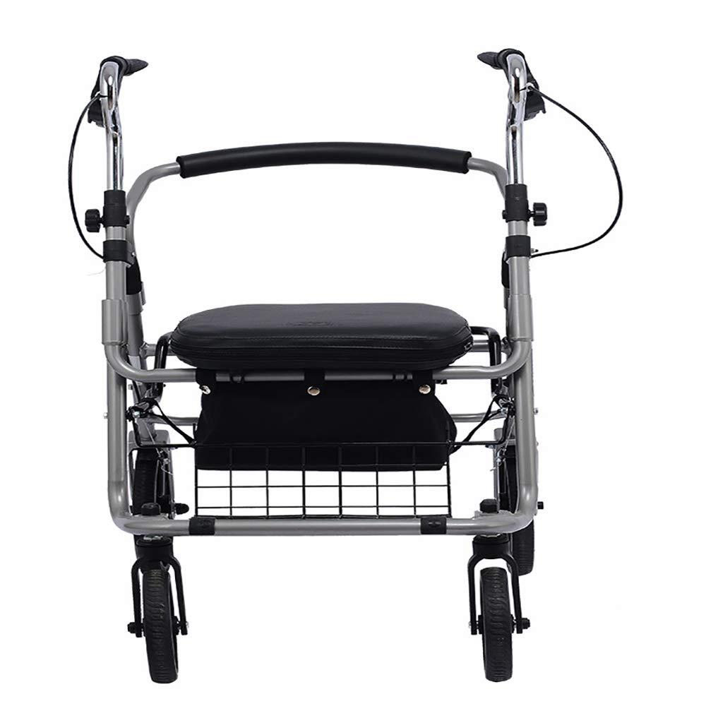 Amazon.com: XiHAA - Caminero de ruedas con asiento de ...