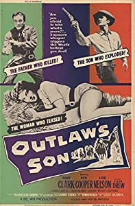 Outlaw's Son Movie Poster (27,94 x 43,18 cm)