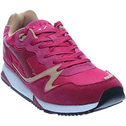 Diadora Unisex V7000 NYL II Sand/Bright Rose/Incense 11 Women / 9.5 Men M US Medium