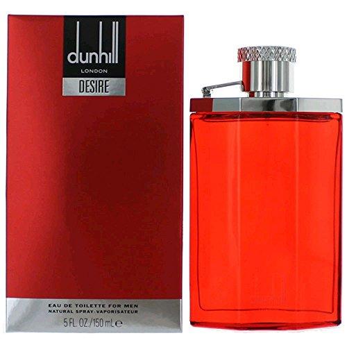Alfred Dunhill Desire Red for Men Eau de Toilette Spray, 5 Ounces
