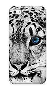 New Premium AnnaSanders Snow Leopard Skin Case Cover Excellent Fitted For iphone 6 4.7