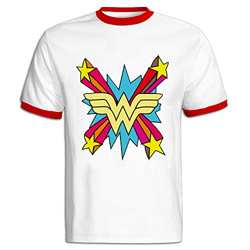 JAX D Women's Cotton Colorful Wonder Logo Running T Shirt Red - England Gucci