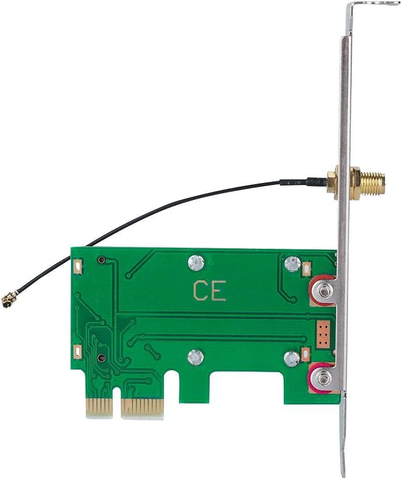 Expand External Adapter Network Card 3.3V and 5V Support Mini PCI-E to PCI-E Riser Card Wendry Network Cards Mini-PCI Wireless Network Card