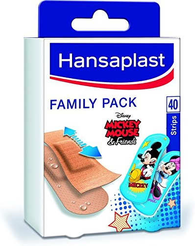 23930e9a94 Hansaplast - Set di 40 cerotti Family Pack: Amazon.it: Salute e cura ...