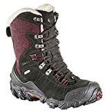 Oboz Bridger 9'' Insulated B-Dry Hiking Boots - Women's Winterberry Red 9