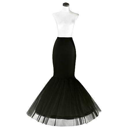 HTWY - Falda de Cola de Sirena para Vestido de Novia: Amazon.es: Hogar