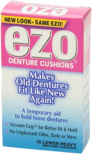 Ezo Denture Cushions, Lower Heavy, 15 Cushions (Pack of 6) by Ezo (Image #2)