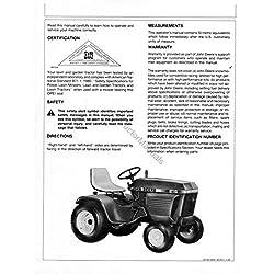 John Deere JD 210, 212, 214, 216 Lawn & Garden