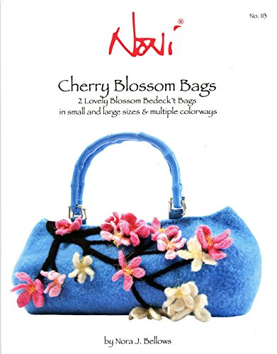 Noni Bags Felted Purse (Noni Knitting & Felting Pattern 113 - Cherry Blossom Bags in Small & Large Sizes & Multiple Colorways)