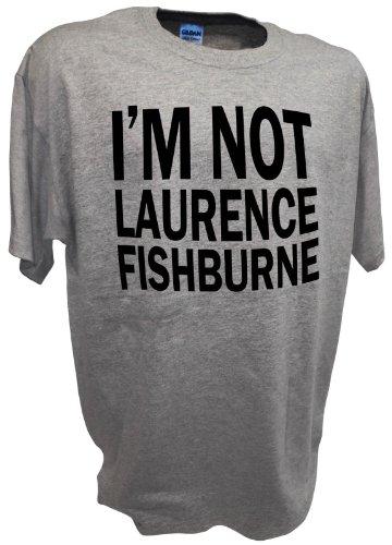 Mens I'm Not Laurence Fishburne Samuel L Jackson Marvel Tee