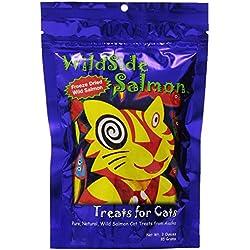 WildSide Salmon Cat Treats - 3 oz